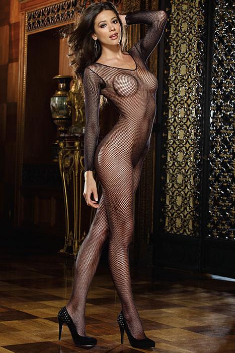 Порно фото девушек в сетке боди