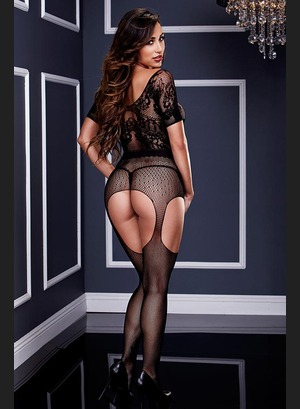 Сетка Baci Crotchless Suspender Bodystocking